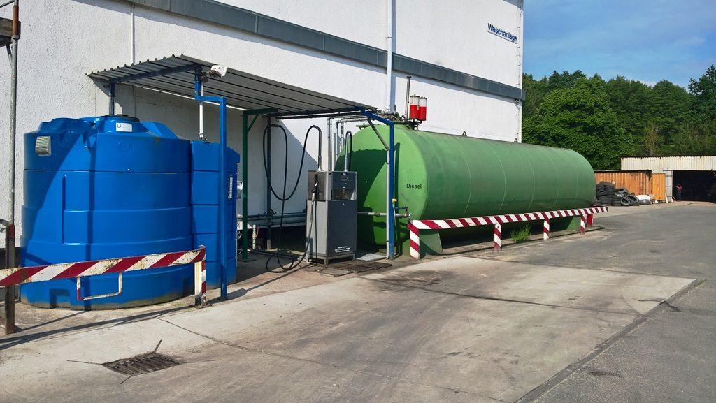 Tankanlage Fa. Schütt in Bützow